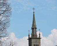 Church tower, Lithuania Royalty Free Stock Photos