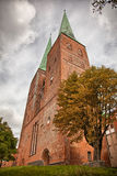Church tower in Lubeck, Germany Stock Photography