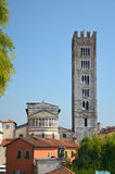 Church Tower from Lucca, Italy. A church tower from Lucca, Italy Stock Photography