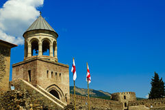 Church tower in Mtsheta Royalty Free Stock Photography