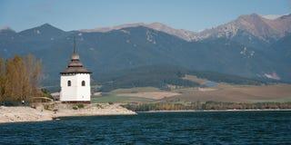 Church Tower near Liptovska Mara, Royalty Free Stock Image