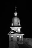 Church tower at night Royalty Free Stock Image