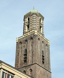 Church tower in Zwolle Royalty Free Stock Photo