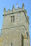 Church tower. A photo of an old church tower Stock Photo