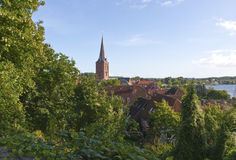 Church Tower at Plön Stock Image