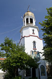 Church tower in Pomorie Royalty Free Stock Photography