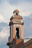 Church Tower in Puebla Mexico Royalty Free Stock Image