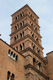 Church tower , Rome, Italy Stock Images