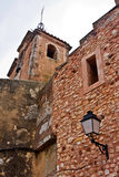 Church Tower in Roussillon Stock Photo