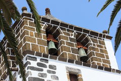 Church tower San Andres, La Palma Stock Images