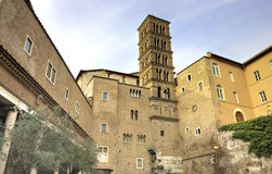 Church Tower Santi Giovanni E Paolo Stock Photography