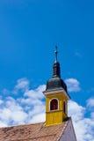 Church tower in Sibiu stock photos