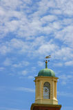 Church Tower with Sky Royalty Free Stock Image