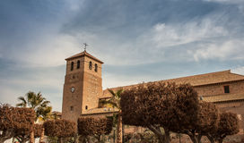 Church tower in Spain Stock Image