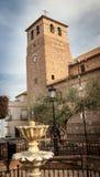 Church tower in Spain Stock Photos