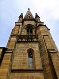 Church Tower and Spire Royalty Free Stock Photo