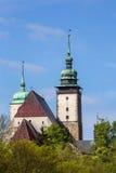 Church tower of St. James,Jihlava, Czech Republic Royalty Free Stock Photography