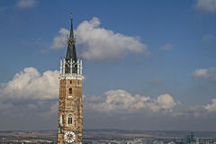 Church tower of  St. Martin Stock Photography