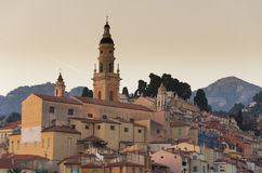 Menton,France Stock Photo