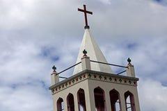 Church tower - Tongatapu Island Royalty Free Stock Photos