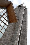 Church tower. The church in Zakopane, Poland stock photography