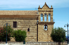 Church tower in Zakynthos island. Greece Royalty Free Stock Photography