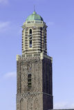 Church tower of Zwolle. Historic church tower of Zwolle, the Netherlands, called the Peperbus Stock Photos
