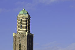 Church tower of Zwolle. Called the Peperbus Stock Photography