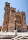 Church at town Birzebbuga, Malta Royalty Free Stock Photo