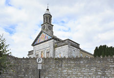 Church at the town of Cashel in Ireland Stock Photo