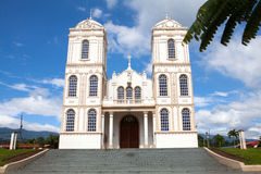 Church in the town of Sarchi, Costa Rica Stock Photos