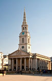 Church trafalgar square (St. Martin in the fields) Stock Photos