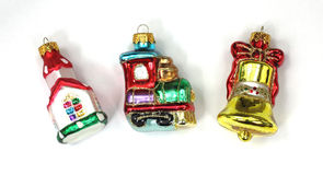 Church Train Bell Miniature Ornaments Royalty Free Stock Photo