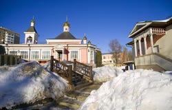The Church of the Transfiguration in Bogorodskoye Stock Images