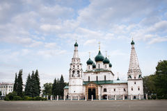 Church of the Transfiguration on the City Stock Images