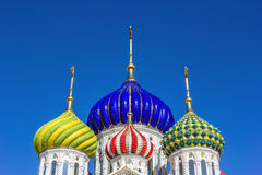 Church of the Transfiguration domes, Moscow Stock Photography