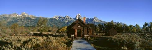 Church of Transfiguration, Grand Teton National Park, Wyoming royalty free stock images