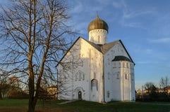 Church of the Transfiguration on Ilin street Royalty Free Stock Photography