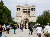 Church of the Transfiguration in Israel Royalty Free Stock Image