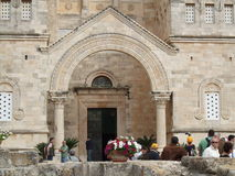 Church of the Transfiguration in Israel Royalty Free Stock Images