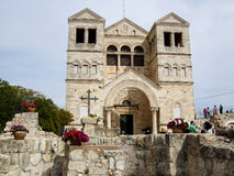 Church of the Transfiguration in Israel Stock Image