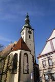 Church of Transfiguration of Jesus in Tabor, Czech Republic Royalty Free Stock Photos