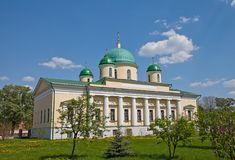 Church of Transfiguration of Jesus (1842). Tula, Russia Royalty Free Stock Photography
