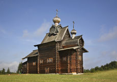 Church of Transfiguration in Khokhlovka. Perm krai, Russia Stock Photo