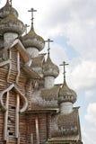 Church of the Transfiguration. Kizhi Pogost Stock Photos