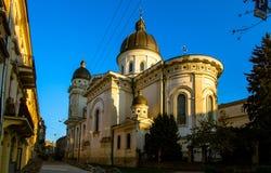 Church of transfiguration, Lviv Stock Image