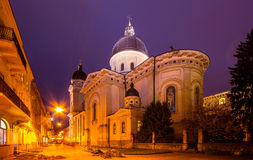 Church of transfiguration, Lviv Royalty Free Stock Images