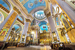 Church of transfiguration in lviv ukraine Stock Image