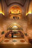 Church of the Transfiguration, Mount Tabor, Galilee, Israel. Royalty Free Stock Photography