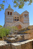 Church of the Transfiguration, Mount Tabor, Galilee, Israel Stock Photography